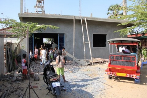 A vibrant Christian faith alive in Cambodia.